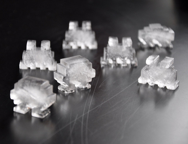 Retro Games, ice cube, space invader, Flickr