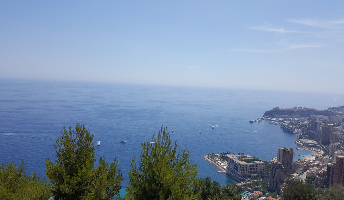 Monaco, Monte Carlo, ocean, city, sea, shore