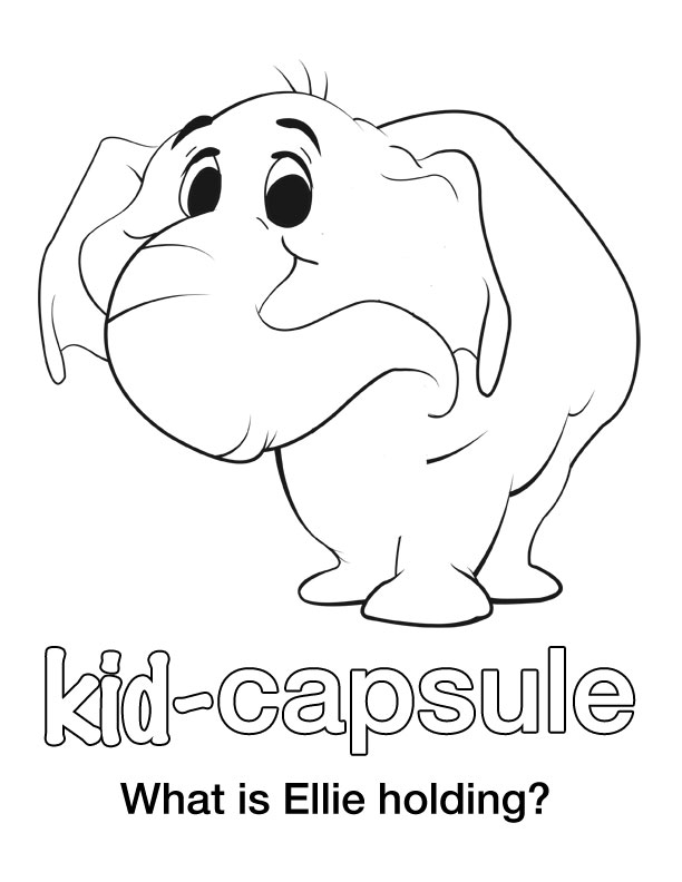 coloring page — Kid-Capsule App Blog