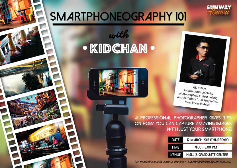 Smartphoneography 101 with KIDCHAN