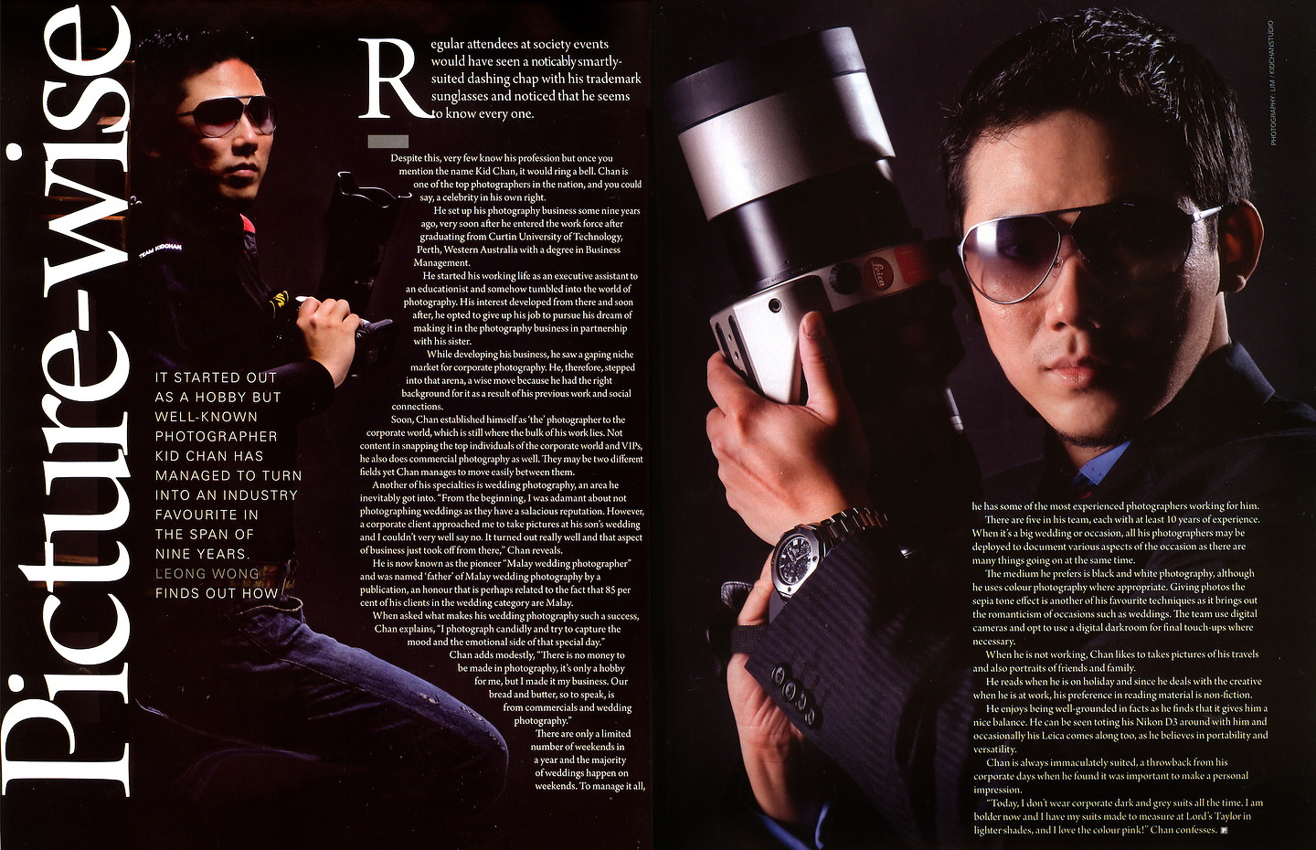 Prestige Malaysia: Kid Chan, 'Picture-wise', March 2009