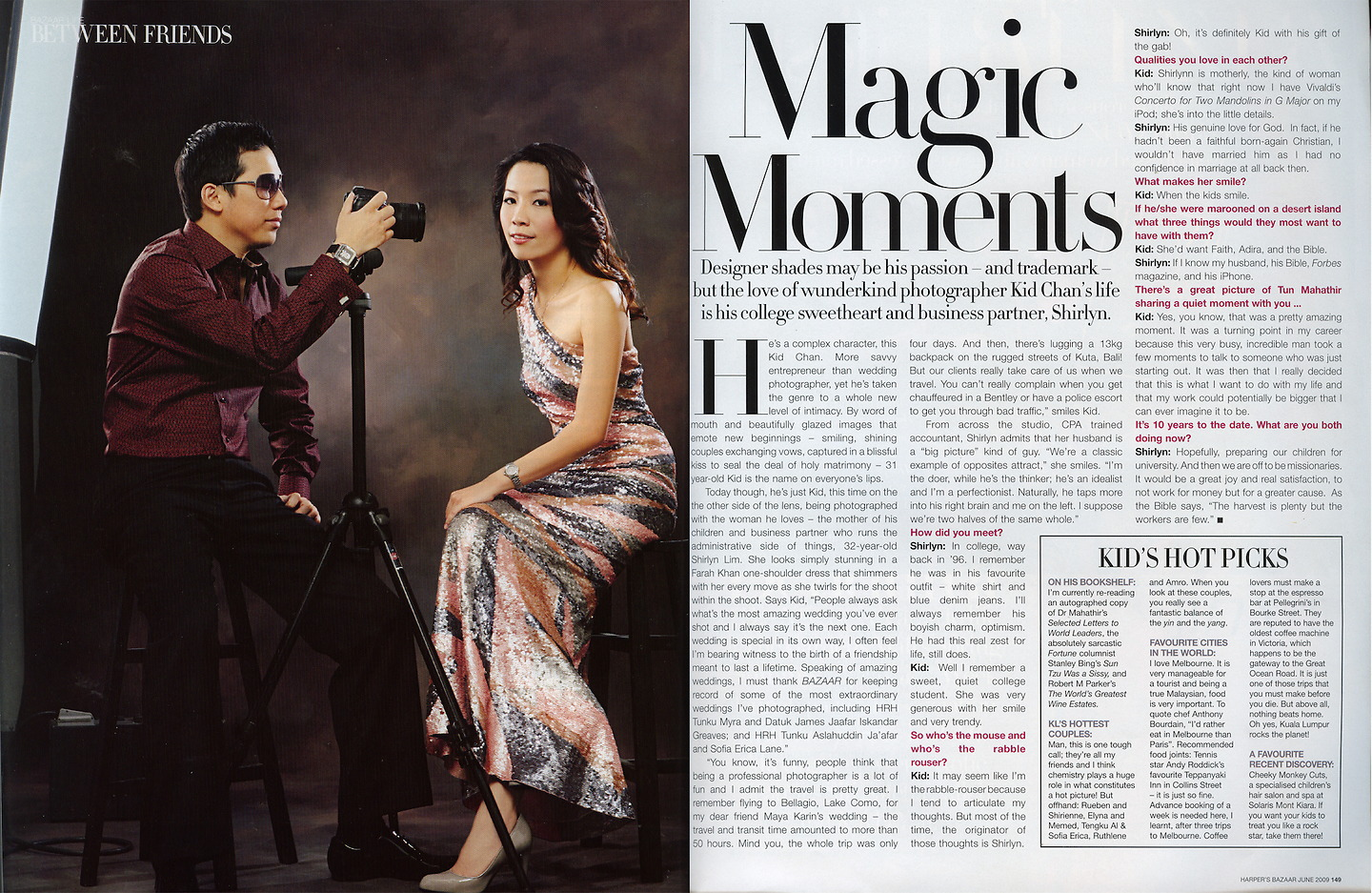 Harper's Bazaar: Magic Moments