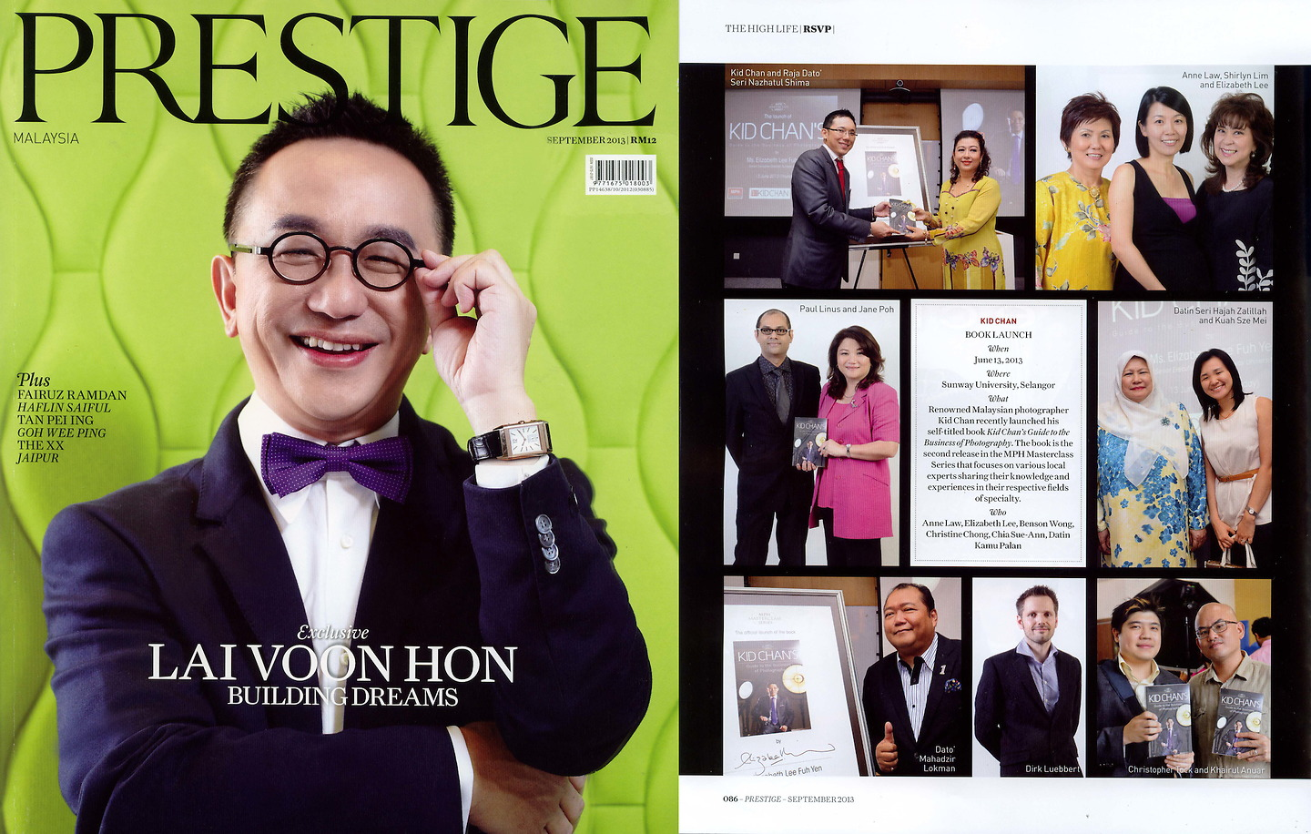 Prestige September 2013: Features Kid Chan