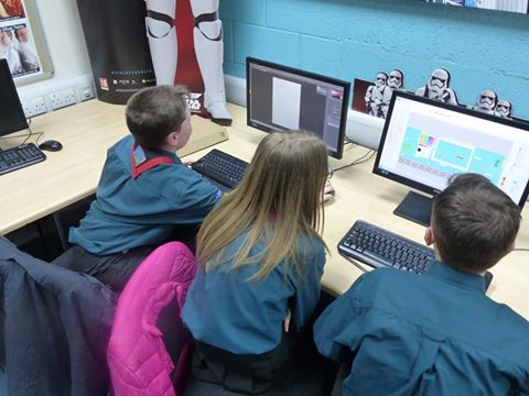 Scouts visit College to experience Games Design