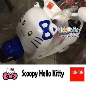 Scoopy HelloKitty Motor Aki Mainan Cewek