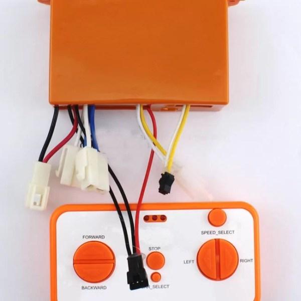 Remote Mobil aki Set Modul Relay Receiver 2.4Ghz 12V