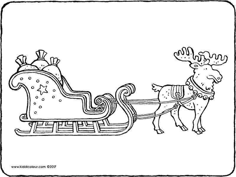 christmas colouring pages page