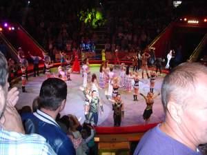 Nikulin Circus performers
