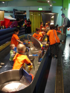 Water play at the Science Museum