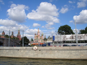 St Basil's from the Moscow River