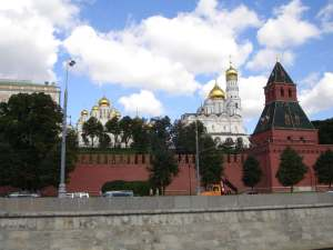 The Kremlin from the Moscow River