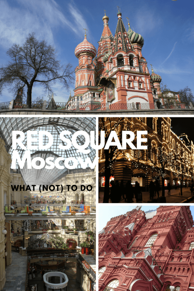 If you visit Russia, then you have to go to Moscow. If you visit Moscow, you have to go to Red Square. But what should you do on Red Square?