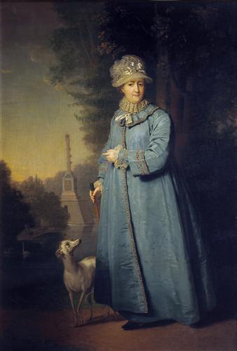 Borovikovsky's Catherine the Great at the Tretyakov Gallery