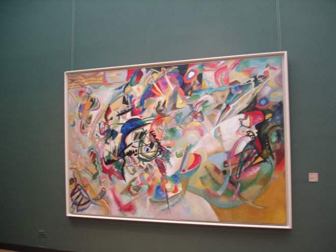 Kandinsky at the Tretyakov Gallery