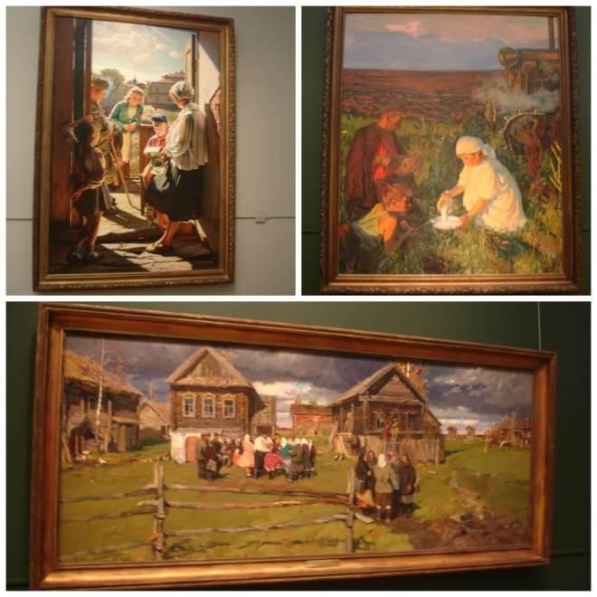 Soviet Realism at the Tretyakov Gallery