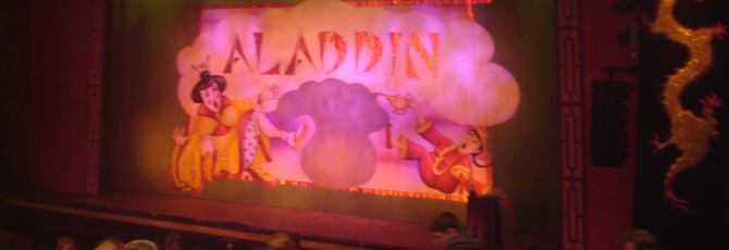 Aladdin at the Gordon Craig Theatre, Stevenage
