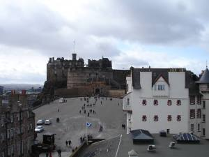 Edinburgh Castle from World of Illusions