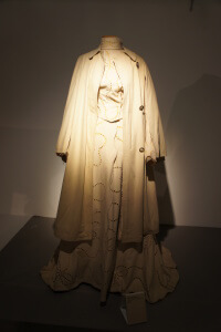 Museum of Moscow white dress