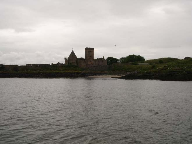 Inchcolm Abbey from the water