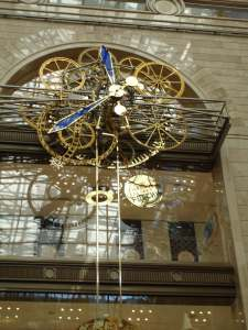 Giant Clock Central Childrens Store Detsky Mir Moscow