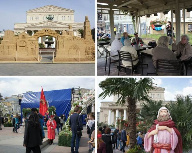 Orthodox Easter and Labour Day in Moscow