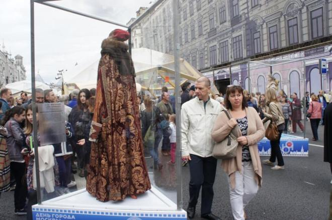 Ivan the Terrible robes Moscow City Day 2016