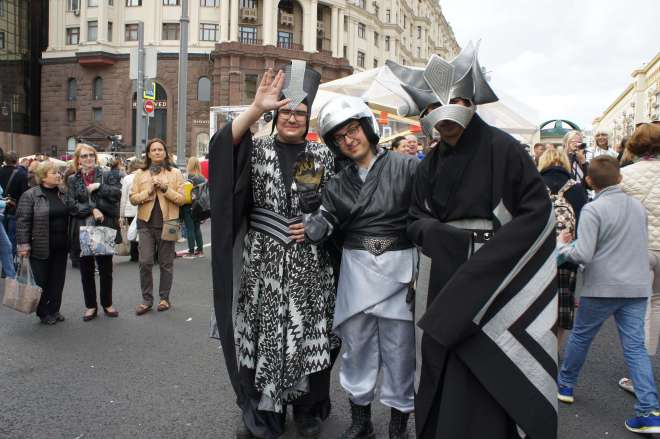 Soviet cosplay Moscow City Day 2016