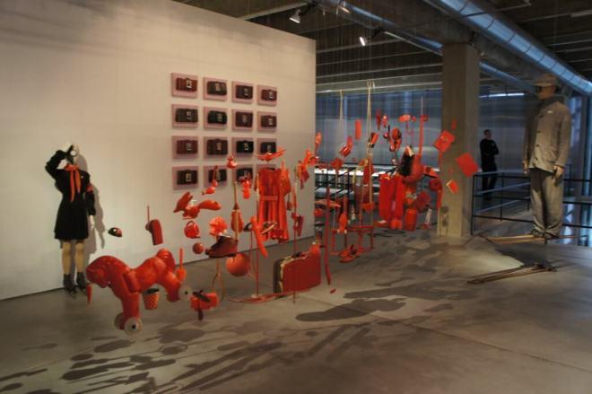 Female Male Red Khasanov Garage Triennial