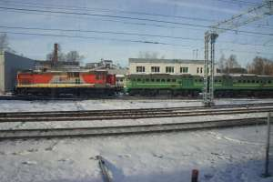 Freight train Moscow Central Circle Line