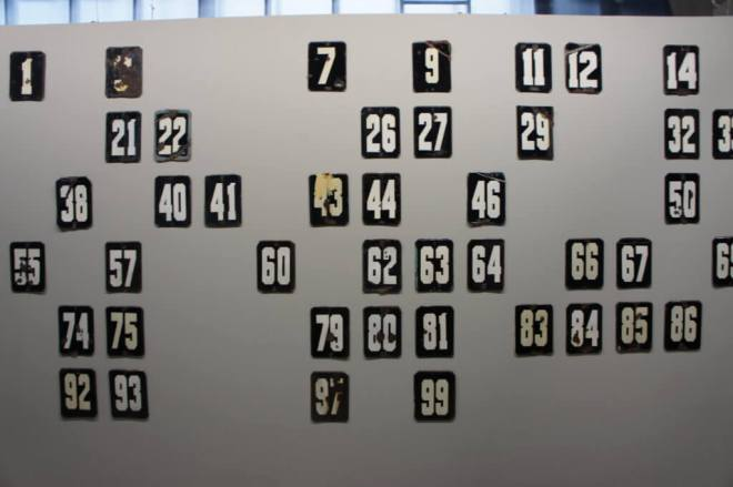 Numbers Gaisumov Garage