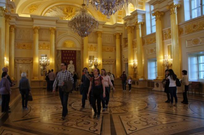 Ballroom Tsaritsyno Moscow