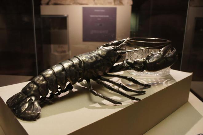 Lobster Crstal Bowl Tsaritsyno Moscow