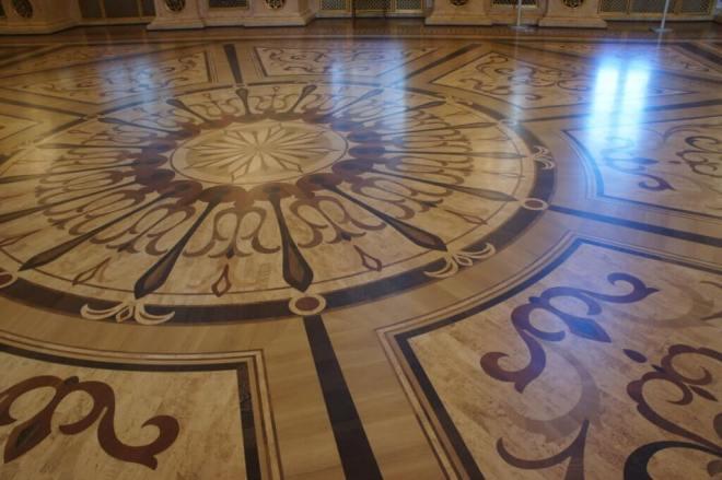 Parquet Floor Tsaritsyno Moscow