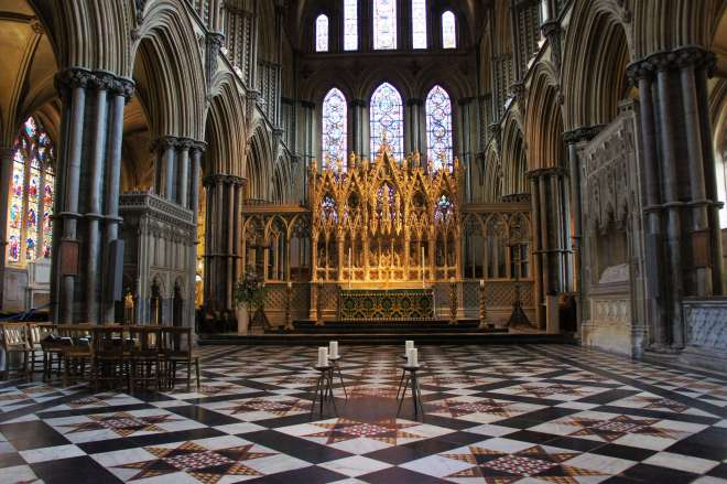 high altar Ely Cathedral