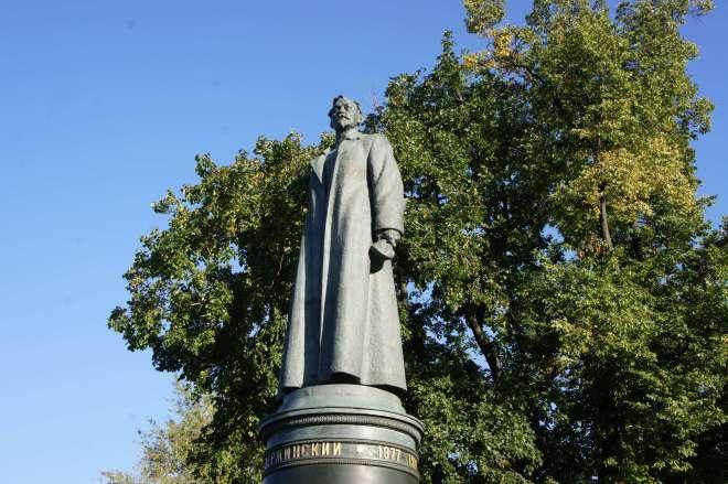 Felix Dzershinsky Statue Muzeon Park