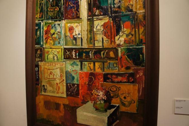 Painting Zurab Tsereteli Studio Museum Moscow