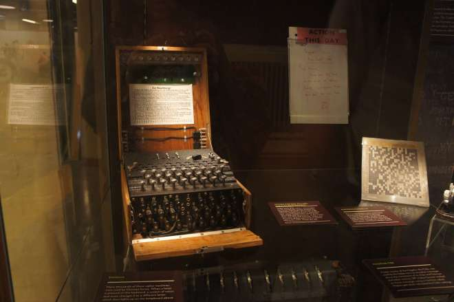 Enigma Cipher Machine Bletchley Park