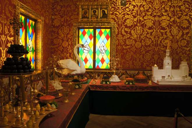Banqueting Room at Palace of Tsar Alexey Mikhailovich Kolomenskoye Moscow