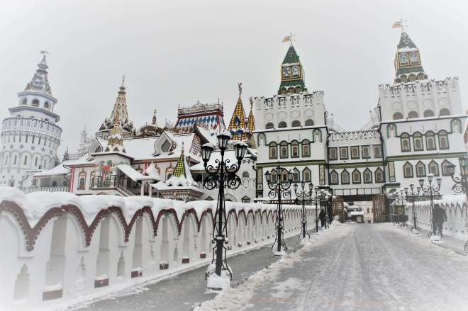 Kremlin in Ismailovo Moscow