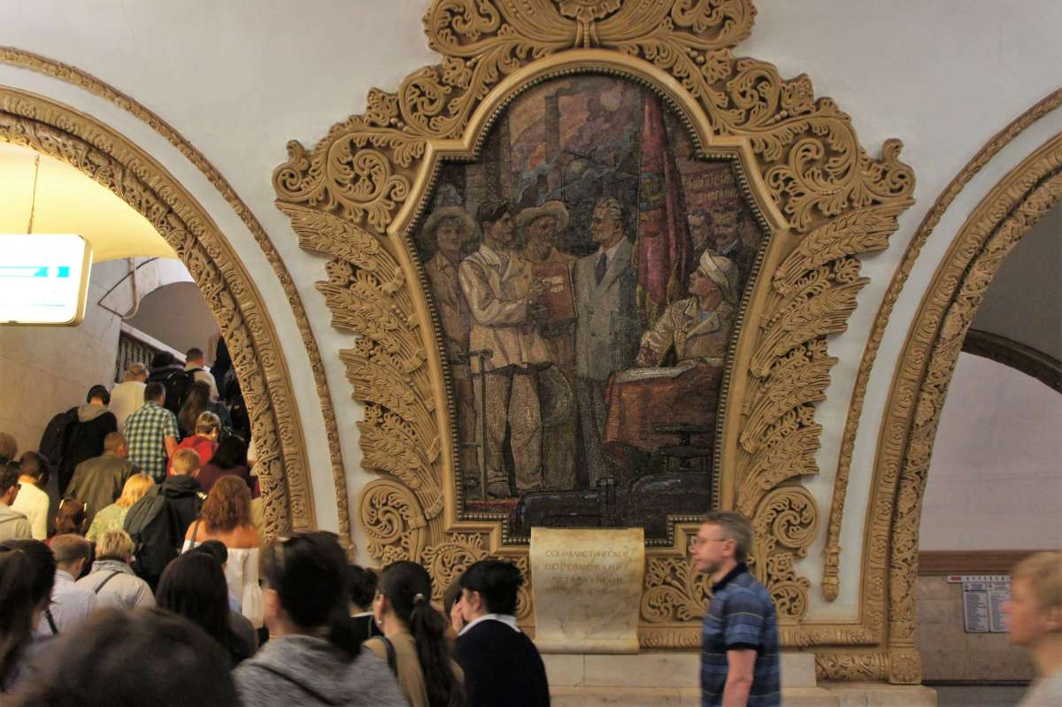 How to use and admire the Moscow Metro