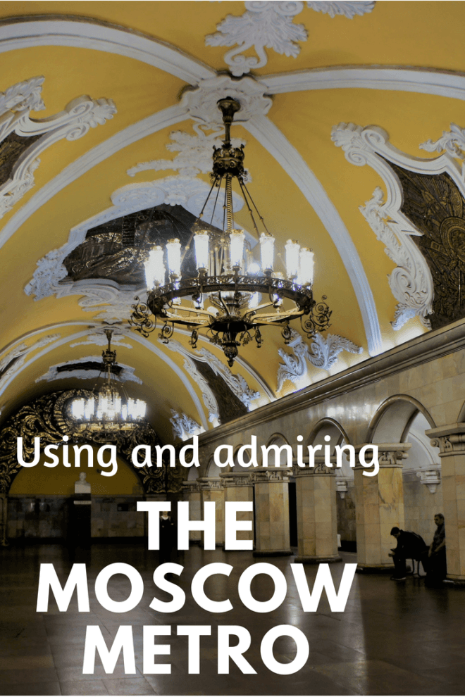 Read all about the #Moscow #Metro and its #beautiful stations as well as a practical #guide to how to use it
