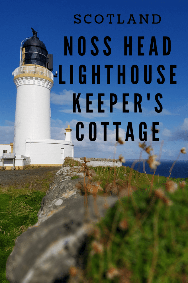 The Noss Head Lighthouse Keeper's Cottage is a comfortable, quirky holiday cottage on Scotland's NC500 coastal route, only 20 minutes from John o'Groats.