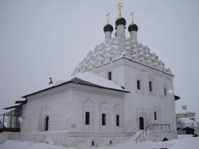 Church of St Nicholas Posadsky in Kolomna Russia