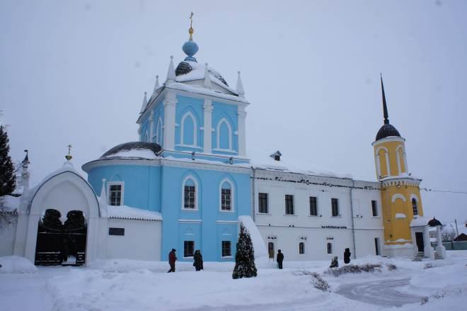 Monastery in Kolomna Russia