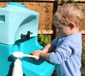 Kiddisynk portable sinks for preschool and nursery