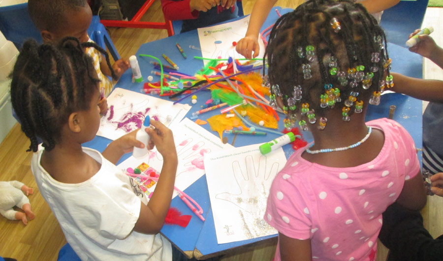 Kiddiwash Craft Crew introduced the nursery to TEAL's Kiddiwash Xtra