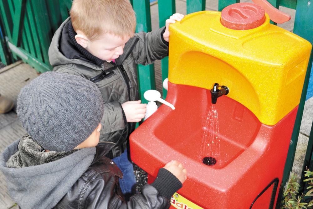 KiddiSynk helps teach handwashing to children