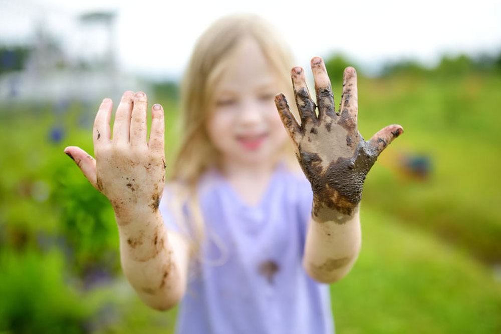 Kids need soap and water not gels when their hands are dirty. Here's why…
