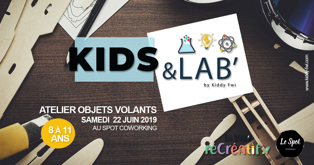 atelier objets volants scientifique enfants guadleoupe