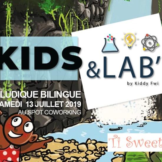 atelier ludique bilingue enfants guadeloupe kids&lab